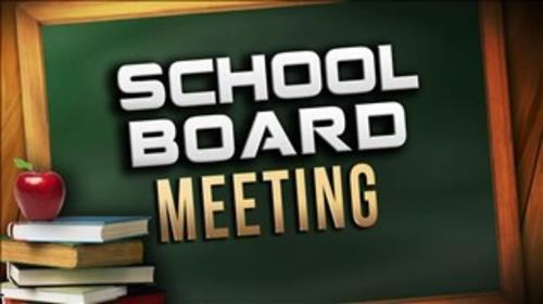 School Board Meeting Agenda for January 12, 2021